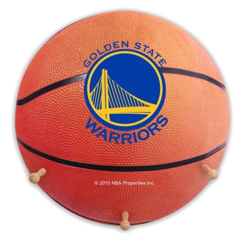 Golden State Warriors Basketball Coat Hanger