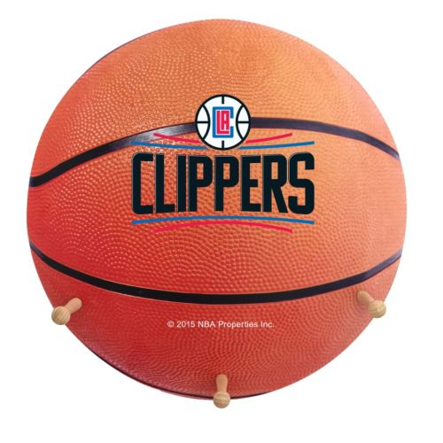 Los Angeles Clippers Basketball Coat Hanger
