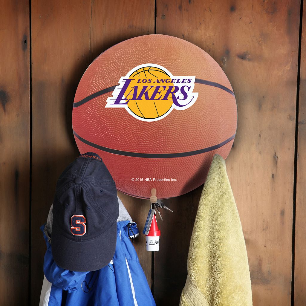 Los Angeles Lakers Basketball Coat Hanger
