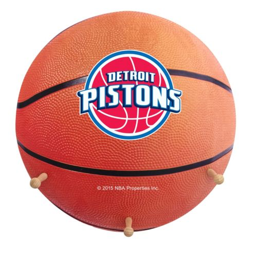 Detroit Pistons Basketball Coat Hanger