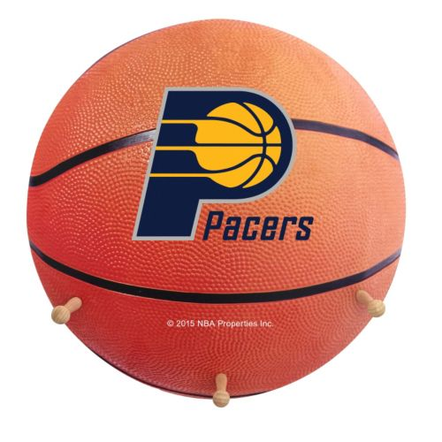 Indiana Pacers Basketball Coat Hanger