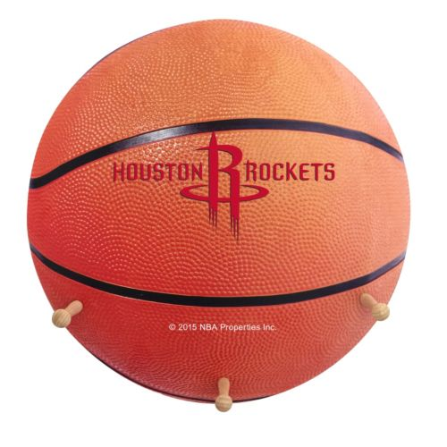 Houston Rockets Basketball Coat Hanger