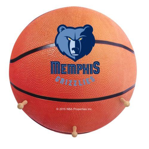 Memphis Grizzlies Basketball Coat Hanger