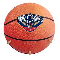 New Orleans Pelicans Basketball Coat Hanger