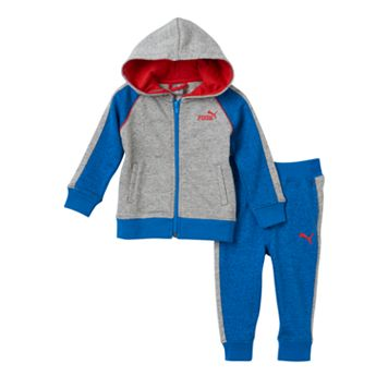 Baby Boy PUMA Marled Jacket & Pants Set