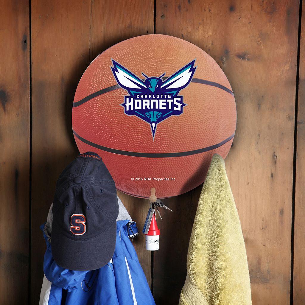 Charlotte Hornets Basketball Coat Hanger