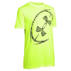 Boys 8-20 Under Armour Football Logo Tee