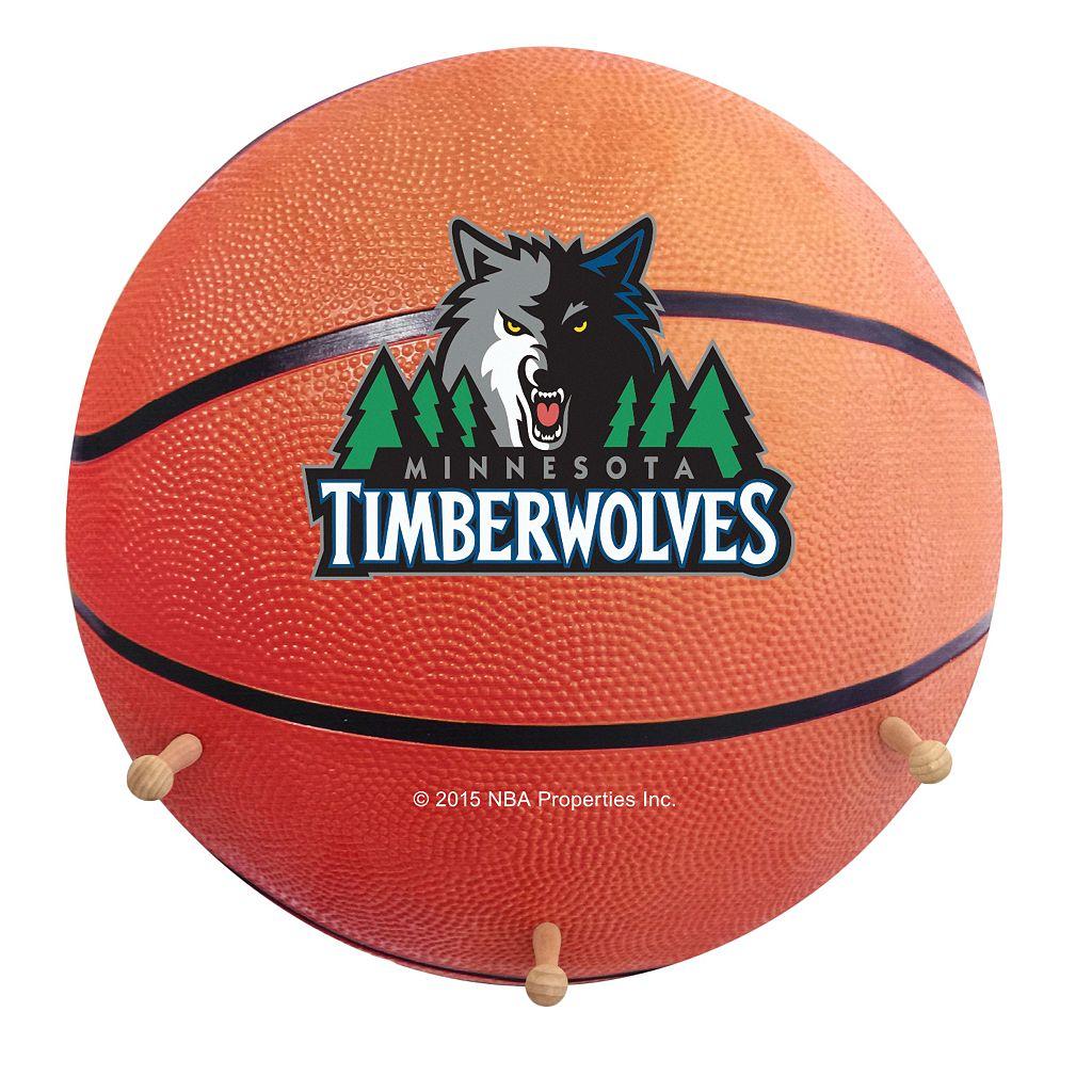 Minnesota Timberwolves Basketball Coat Hanger
