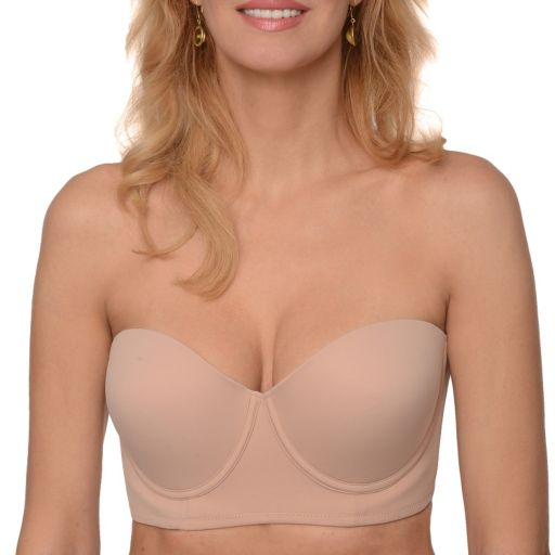 Braza Bra: Backless Strapless Freedom Bustier Push Up Bra 3503