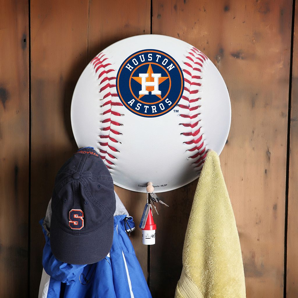 Houston Astros Baseball Coat Hanger