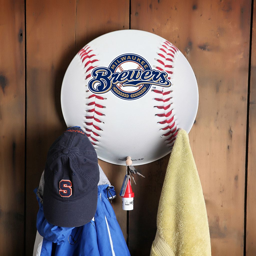 Milwaukee Brewers Baseball Coat Hanger
