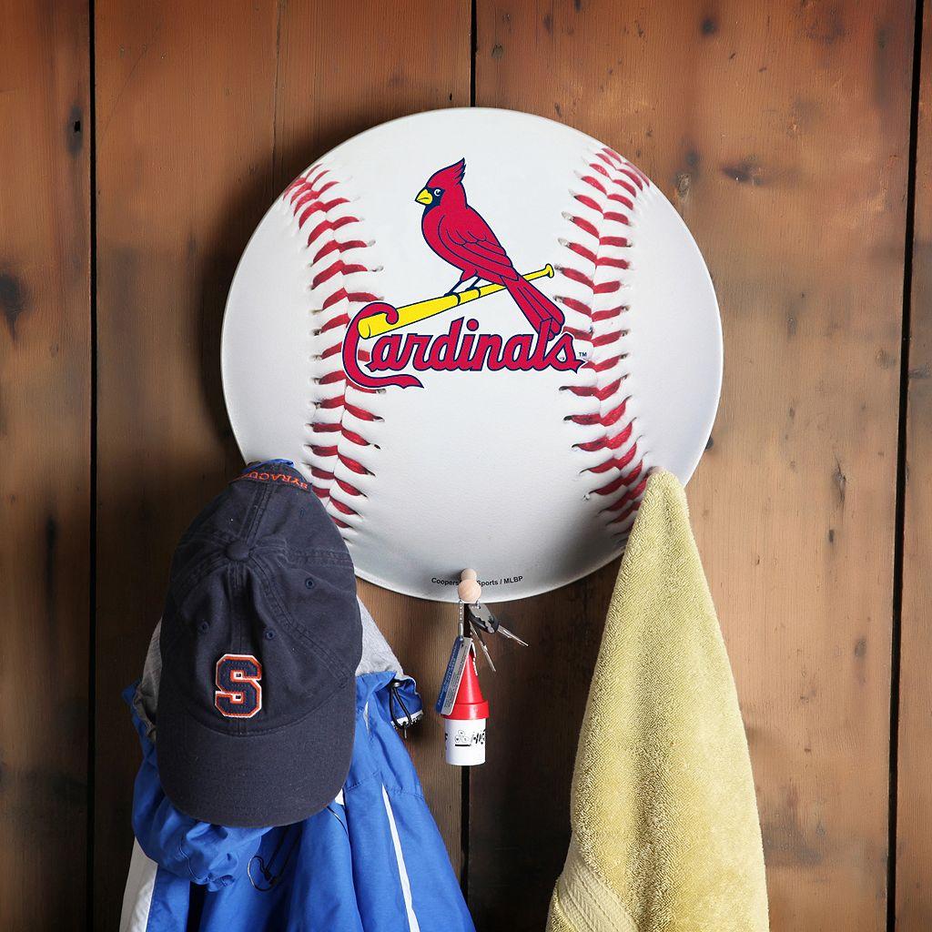 St. Louis Cardinals Baseball Coat Hanger
