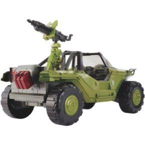 Halo Warthog Vehicle & Master Chief Set by Mattel