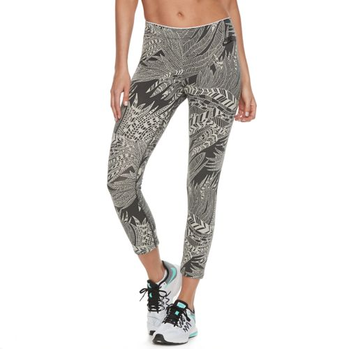 Women's Nike Printed Crop Leggings