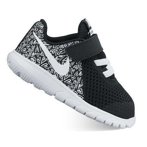0b2c6ca493820 Nike Flex Experience 5 Print Toddler Girls  Shoes
