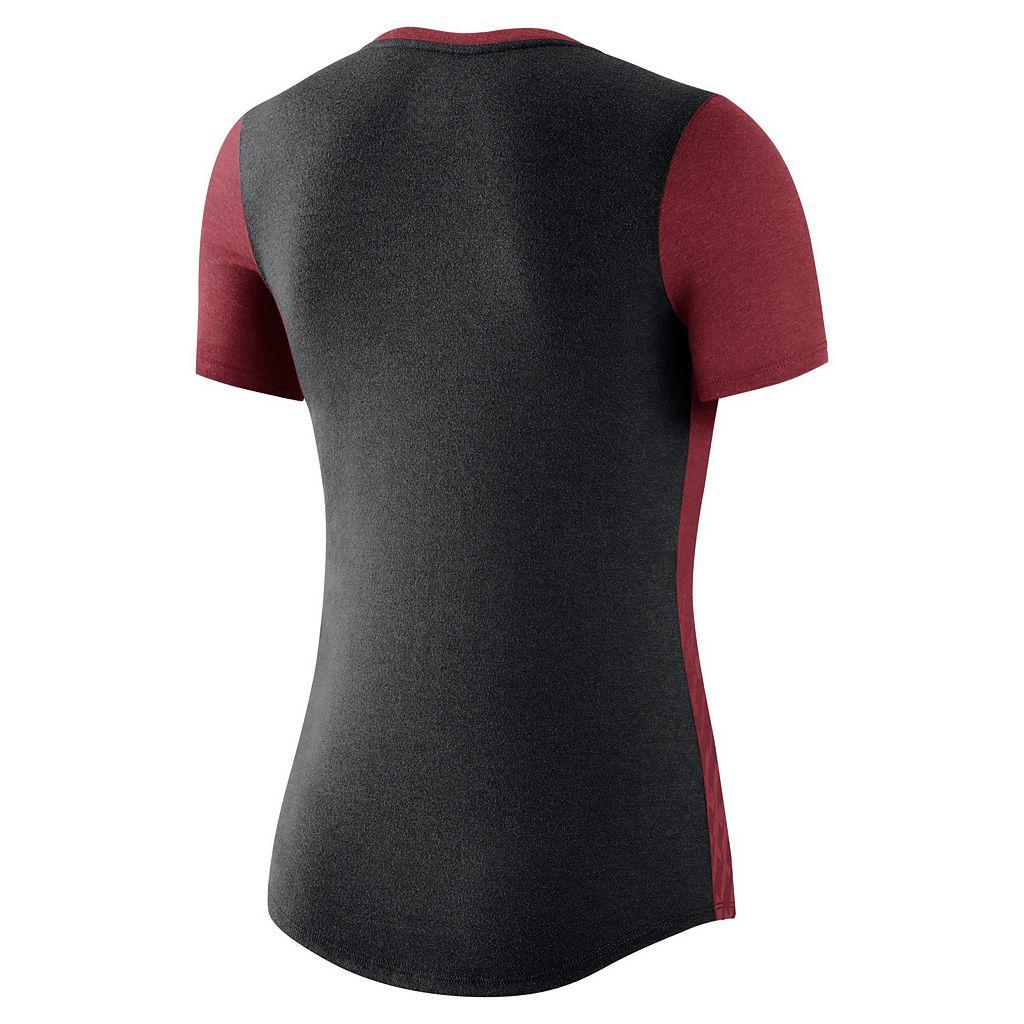 Women's Nike Alabama Crimson Tide Dri-FIT Scoopneck Tee