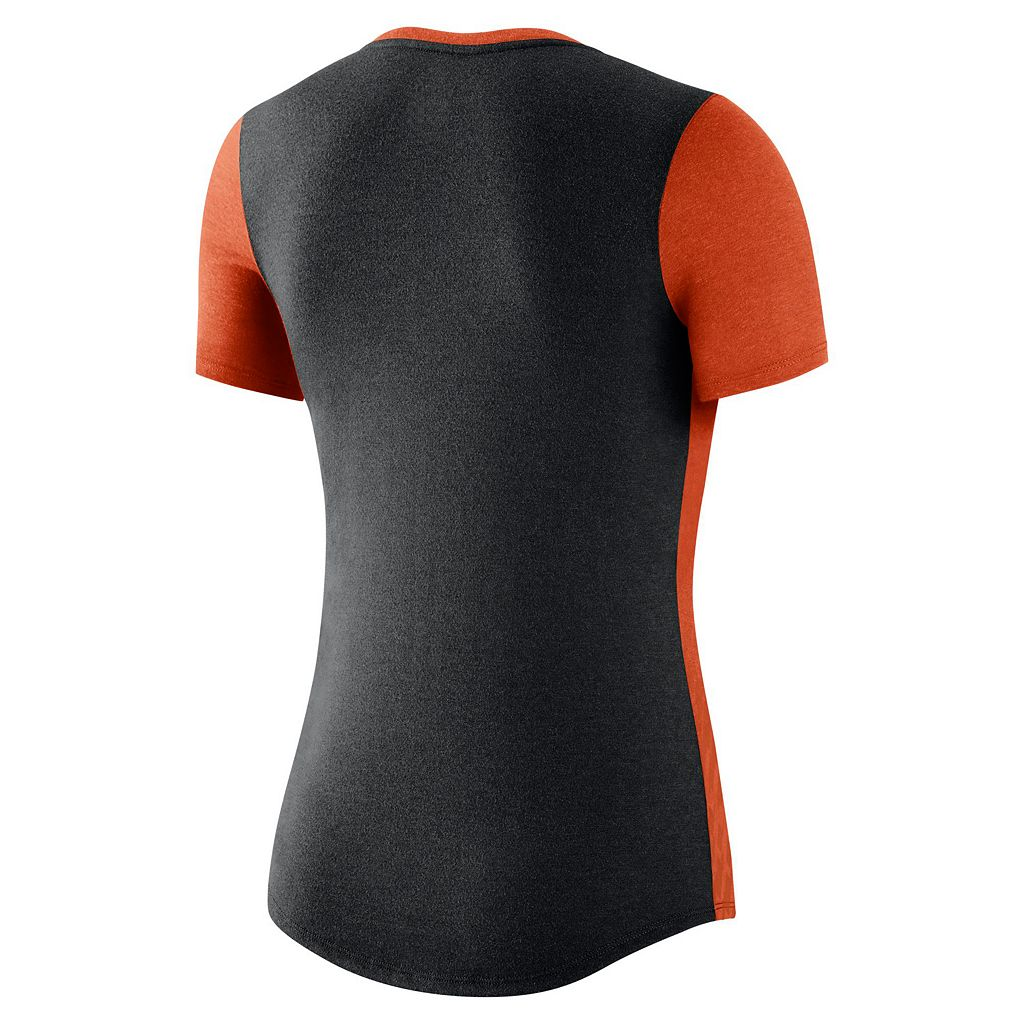 Women's Nike Clemson Tigers Dri-FIT Scoopneck Tee