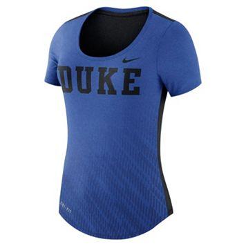 Women's Nike Duke Blue Devils Dri-FIT Scoopneck Tee