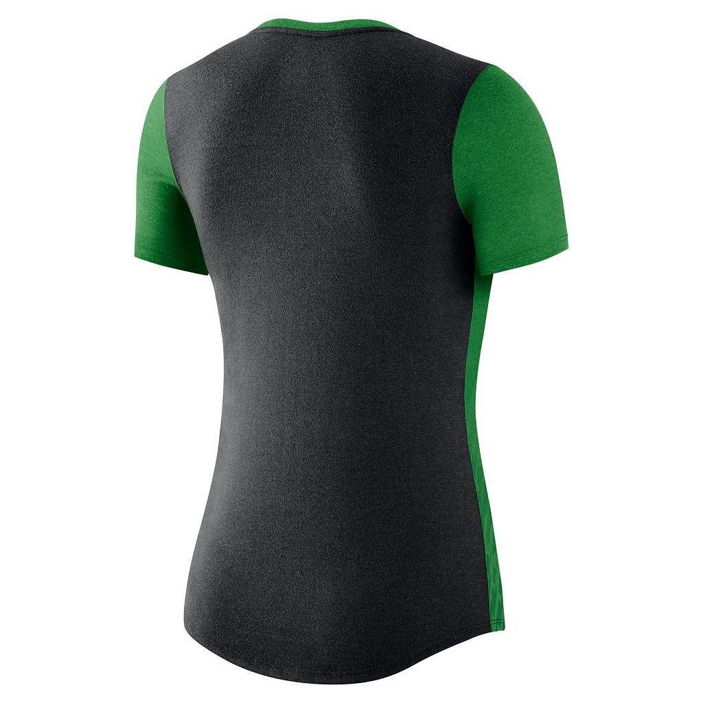 Women's Nike Oregon Ducks Dri-FIT Scoopneck Tee