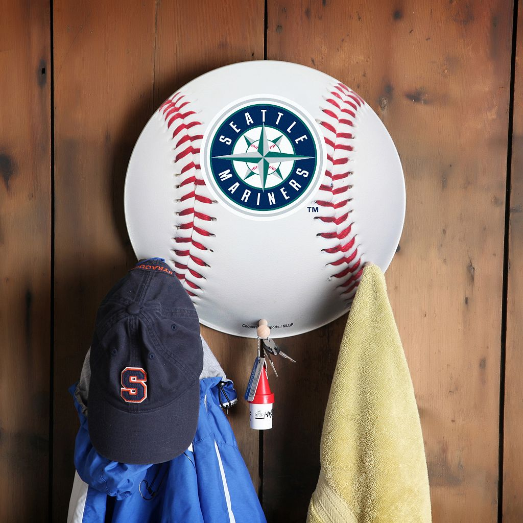 Seattle Mariners Baseball Coat Hanger