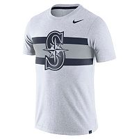 Men's Nike Seattle Mariners Tri-Blend Dri-FIT Tee