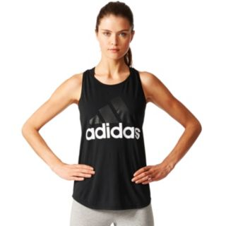 Women's adidas Essential Linear Logo Tank