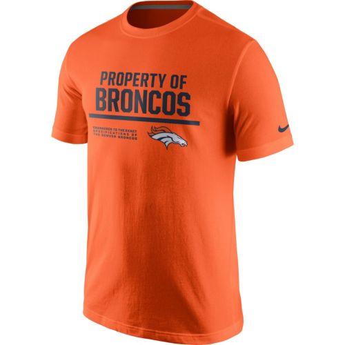 Men's Nike Denver Broncos Property Of Tee