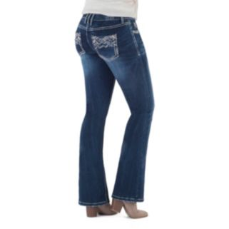 Juniors' Series 31 Embroidered Fit & Flare Jeans