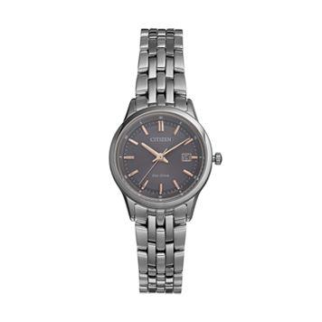 Citizen Eco-Drive Women's Silhouette Sport Stainless Steel Watch - EW2400-58H
