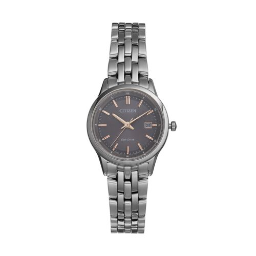 Citizen Eco-Drive Women's Silhouette Sport Stainless Steel Watch - EW2400-58H