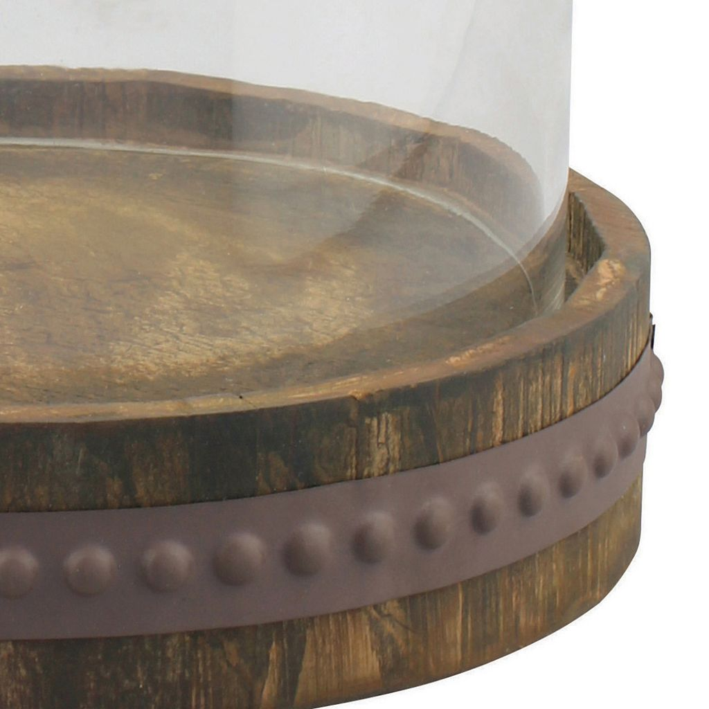 Stonebriar Collection Rustic Bell Shaped Cloche