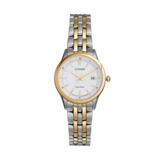 Citizen Eco-Drive Women's Silhouette Sport Two Tone Stainless Steel Watch - EW2404-57A