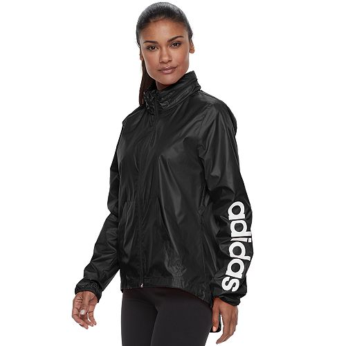 ddfd0be96d0e Women s adidas Linear Windbreaker Jacket