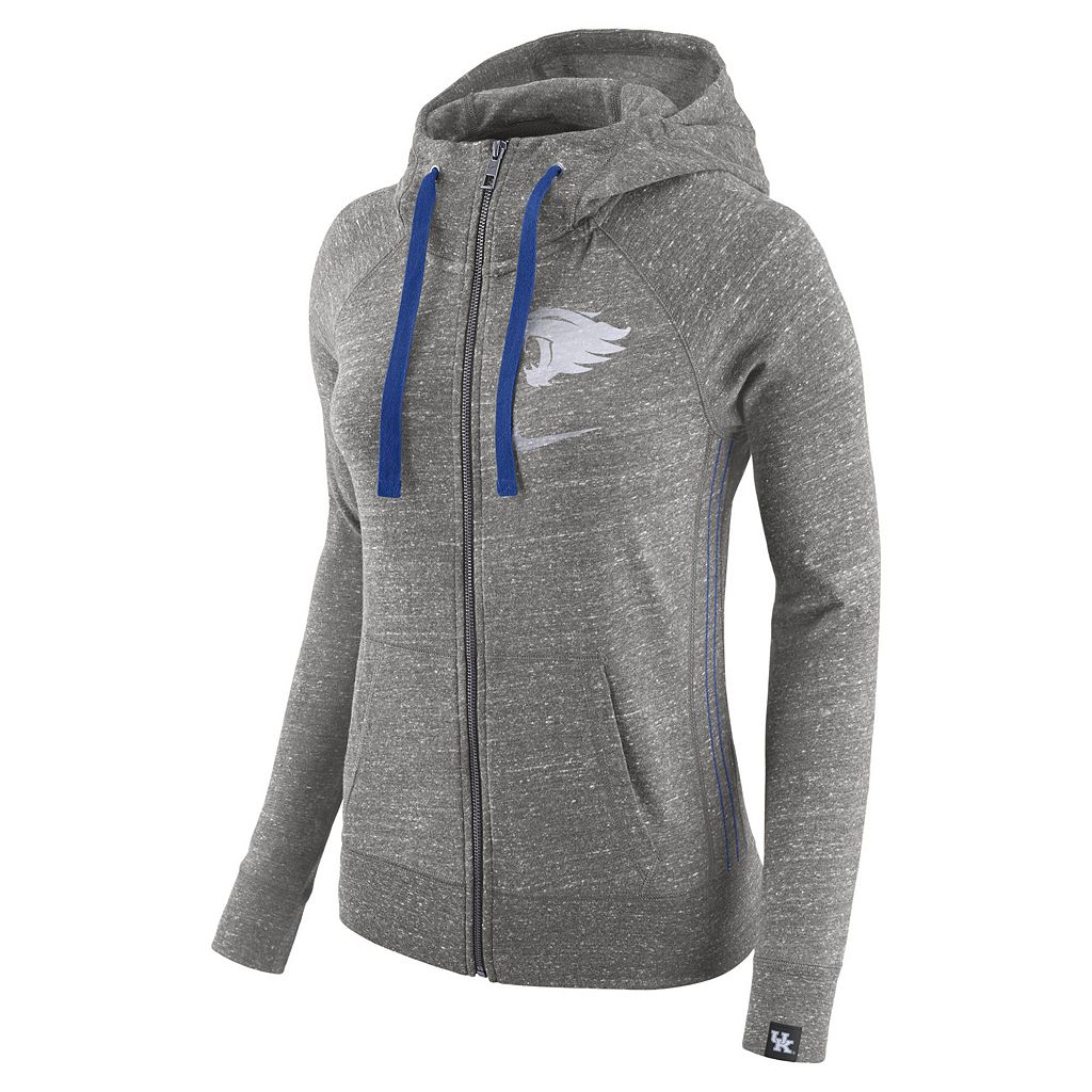Women's Nike Kentucky Wildcats Vintage Full-Zip Hoodie