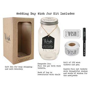 Stonebriar Collection Wedding Wish Jar