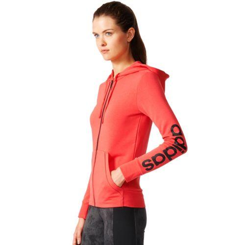 Women's adidas Essential Linear Logo Fz Hoodie