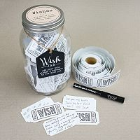 Stonebriar Collection Wishes Jar