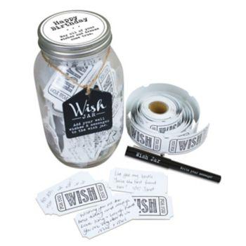 Stonebriar Collection Happy Birthday Wish Jar