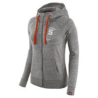 Women's Nike Syracuse Orange Vintage Full-Zip Hoodie