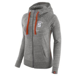 Women's Nike Syracuse Orange Vintage Full-Zip Hoodie