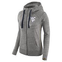 Women's Nike West Virginia Mountaineers Vintage Full-Zip Hoodie