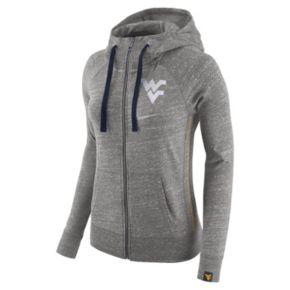 Women's Nike West Virginia Mountaineers Vintage Full-Zip Hoodie