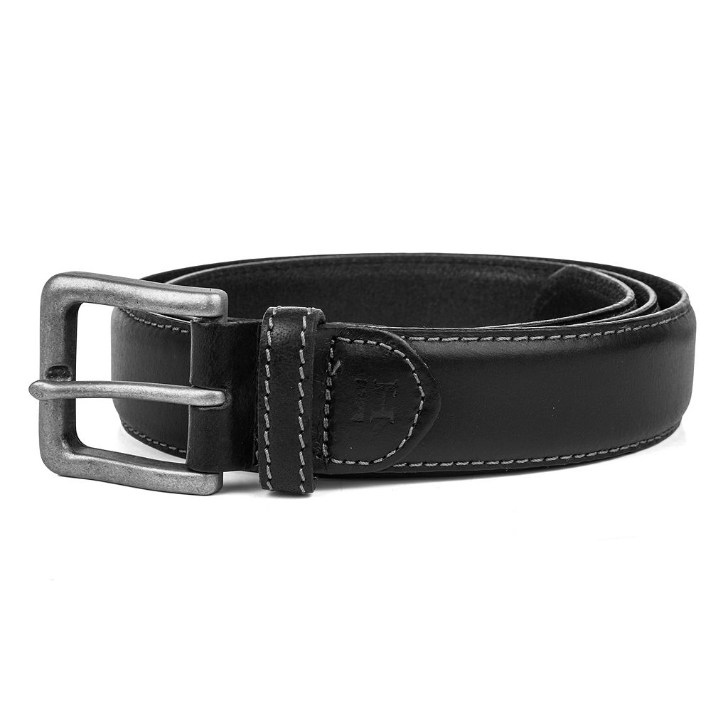 Men's Haggar Contrast-Stitching Belt