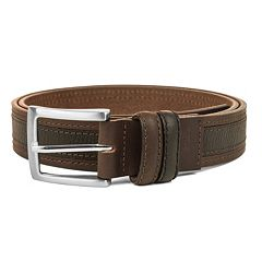 Men's Haggar Two-Toned Belt