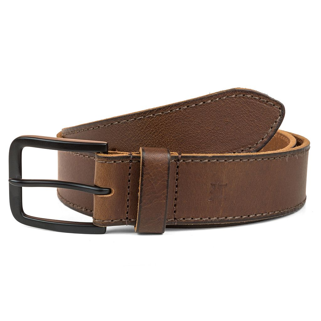 Men's Haggar Retro Leather Belt