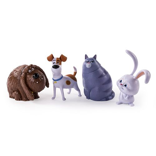 The Secret Life of Pets 4 Figure Set