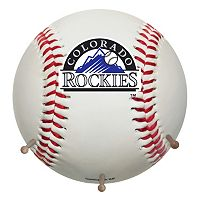 Colorado Rockies Baseball Coat Hanger