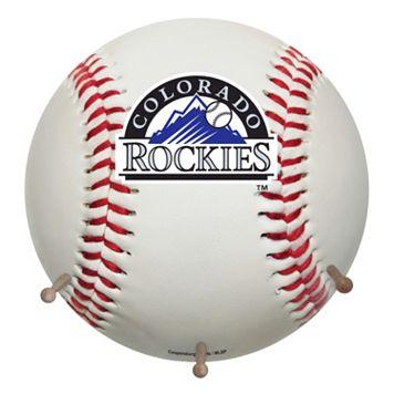 Colorado Rockies Baseball Coat Hanger