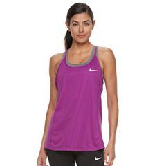 Women's Nike Dri-FIT Mesh Racerback Tank Top