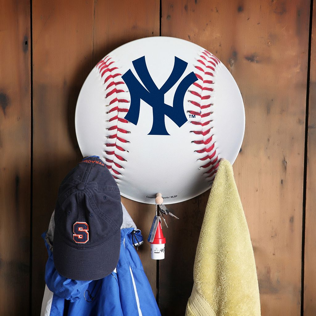 New York Yankees Baseball Coat Hanger
